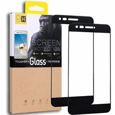 [2-Pack] For LG Aristo /LG K8 2017 / LG LV3 Tempered Glass Screen Protector BLK