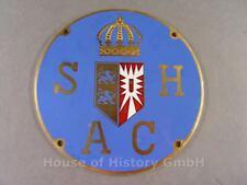 111638, Kühler Plakette des Schleswig Holsteiner Automobil Club SHAC, TOP