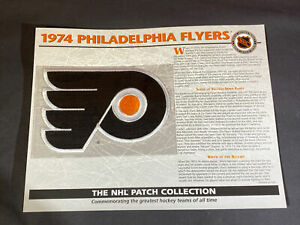 Willabee & Ward NHL Official Patch 1974 Philadelphia Flyers