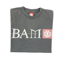 Vintage Element BAM MargeraHeartagram Small T-Shirt HIM Skateboard CKY Jackass
