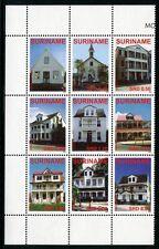 SURINAM 2008 Architektur Architecture Häuser 2212-2220 ** MNH