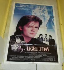 original LIGHT OF DAY one-sheet poster Michael J. Fox Joan Jett Gena Rowlands