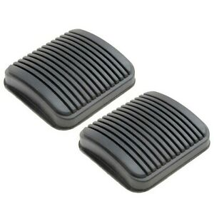 🔥Set of 2 Brake & Clutch Pedal Pad Rubber Covers For Jeep Wrangler Ram 2500🔥