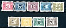 Weeda Canada FPS44/58 VF MNH Third Issue Postal Scrip revenues CV $359.38