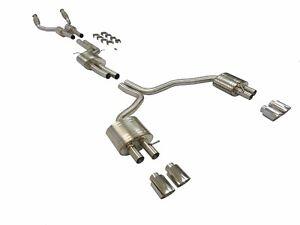 Becker Performance Catback Fitment For 2012-17 Audi S6 Quattro C7 4.0L V8 TT