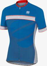 Sportful Giro Short Sleeve Mens Cycling Jersey - Blue