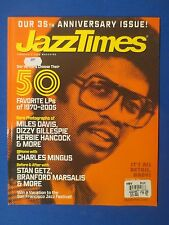 JAZZ TIMES MAGAZINE 35 ANNIVERSARY ISSUE SEPTEMBER 2005 FAVORITE LP'S 1970-2005