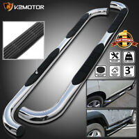 """For 2006-2010 Hummer H3 3"""" Running Board Stainless Side Step Bars Running Boards"""