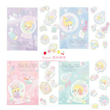 Japanese Fairy Tale Alice Mermaid Cinderella Dream Stamping Stickers Stickers
