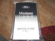 1990 FORD MUSTANG AND GT LX NEW CORRECT FACTORY OWNERS OPERATORS MANUAL NICE!