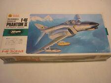 Hasegawa un made plastic kit of a F-4F Phantom 2,  boxed