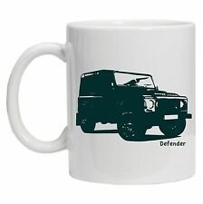 Land Rover Defender Inspired Jeep, Present Gift 10oz Ceramic Tea Coffee Mug