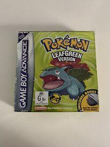 Nintendo Pokemon Leaf Green - Game Boy Advance Still In Box
