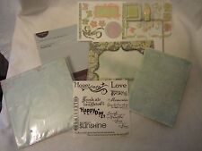Creative Memories Scrapbook Recordable Paper Album Kit Beautiful Day Pastel