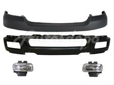 FRONT BUMPER FACE BAR BLACK FOG LIGHT BRACKET W/O FLARE HO FOR 2004-2005 F150