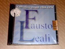 FAUSTO LEALI  -  COLLEZIONE SINGOLI 1968-1970  -  CD 2002  NUOVO E SIGILLATO