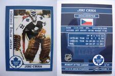 2015 SCA Jiri Crha Czech Toronto Maple Leafs goalie never issued produced #d/10