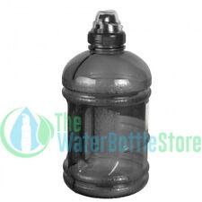 1/2 Half Gallon 64oz BpA Free Plastic Water Bottle w Sports Top Handle Black New