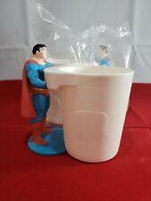 Vintage 1988 burger king  super powers superman Cup holder