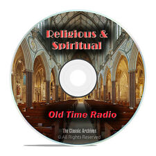 1,260 Religious & Spiritual Old Time Radio Shows Broadcasts Gospel mp3 DVD G61