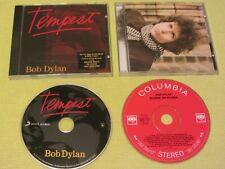 Bob Dylan Tempest & Blonde on Blonde 2 CD Albums Folk Rock Blues