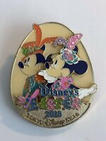 TDS - Disney's Easter 2018 - Mickey And Minnie Mouse Disney Pin (B8)
