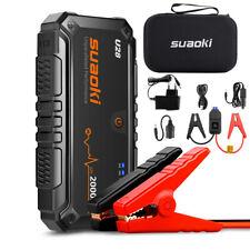 Suaoki U28 2000A DC/USB 3-in-1 Batterie Booster Jump Starter Power Bank LED EU