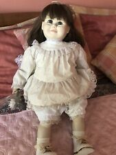 A ROYAL DOLL marked J TURNER  1981 Life size Toddler Doll original outfit & Tag