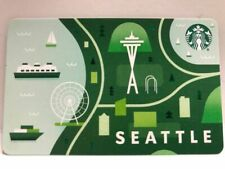 Starbucks 2020 SEATTLE City Gift Card, No swipes, pin intact, NEW hard to find.
