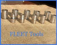 Fleet Tools 1/2 Inch Deep Socket Set