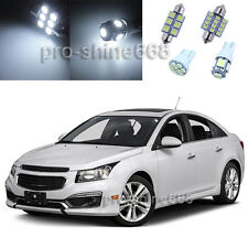 Xenon White LED Interior 9PCS Lights Package for Chevrolet Chevy Cruze 2011 2015