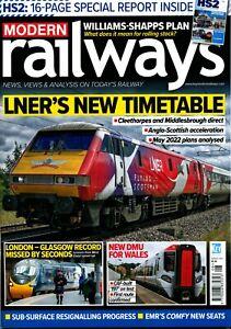 MODERN RAILWAYS 875 AUG 2021 HS2,Clayton,East Coast,ECML,LT 4LM,Europe,Freight