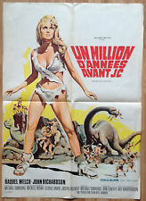 one million years BC Original Film Poster French RAQUEL WELCH