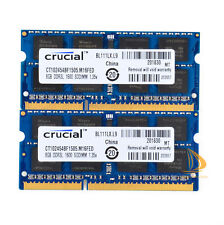 "Crucial 16GB 2x 8GB PC3L-12800 DDR3 Memory For Apple MacBook Pro 15"" A1286 RAM"