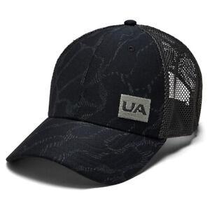 Under Armour Blitzing Trucker 3.0 Cap Mens Black Pro Fit Adjustable Hat