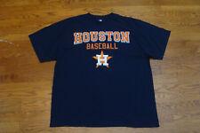 Houston Astros Navy MLB Apparel Short Sleeve Cotton Tee Shirt Size XL