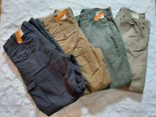 NWT Mens Outdoor Life Lined 6 Pocket Pants Waist 34 Choose Length & Color