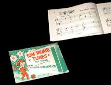 Tom Thumb Tunes for piano 1953 Barbara Kirby-Mason partition piano chant