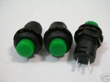 S259 - 5 Stück Drucktaster AUS(EIN) Moment Taster grün