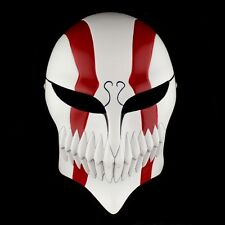 New Ultimate Bleach Ichigo Kurosaki Full Hollow Halloween Cosplay RED Resin Mask