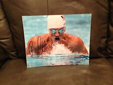 RYAN LOCHTE SIGNED AUTO 8x10 PHOTO SWIMMING OLYMPICS USA U.S.A. PROOF* **WOW** 4