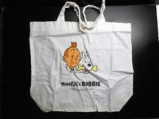 RARE ancien sac en Tissus du Lombard Tintin Kuifje