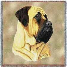 Lap Square Blanket - Bullmastiff by Robert May 1168
