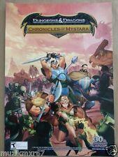 WonderCon 2013 Handout Dungeons & Dragons Chronicles Of Mystara game poster