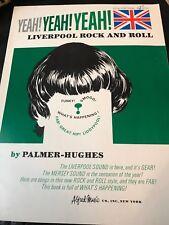 ORGAN  Liverpool Rock and Roll - Yeah! Yeah! Yeah! 1965  Songbook Sheet Music