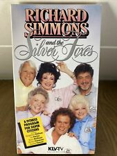RICHARD SIMMONS and the Silver Foxes (VHS) Fitness Program for Seniors '86