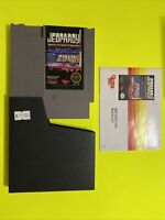 🔥💯 WORKING NINTENDO NES GAME CARTRIDGE🔥 JEOPARDY ALEX TREBEK - COMPLETE 🔥