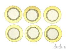 6x Piezo-Element ø12mm (E-Drum-Trigger,Pickup,Resonanzkörper,Piezos,Sensor)