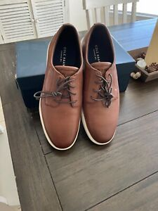 Cole Haan Mens Grand Plus Essex Shoe Wedge Oxford Light Coffee size 10.5 MED