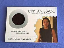 Cryptozoic Orphan Black Season 1 M08 Tatiana Maslany Wardrobe Trading Card